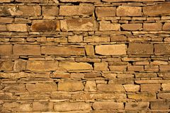 Stone wall of historical barn Royalty Free Stock Photo
