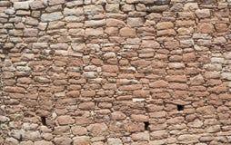 Stone Wall at Hovenweep Royalty Free Stock Photo