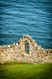 Stone wall  in Howth Royalty Free Stock Images