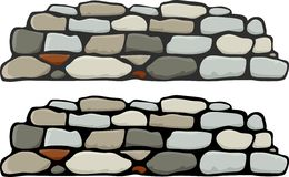 Stone Wall I Stock Images
