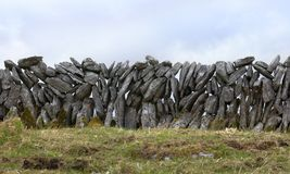 Stone wall in Ireland Stock Photos