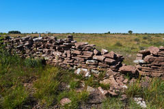 Stone wall, Isle of Oeland, Sweden. Stone wall, Isle if Oeland, province Kalmar, Sweden royalty free stock photography