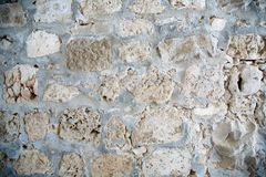 Stone wall in Jerusalem. Very large image Royalty Free Stock Images