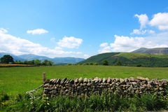 Stone wall in Lake District Royalty Free Stock Images