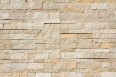Stone wall made with blocks Stock Photography