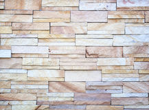 Stone wall made with blocks Stock Image