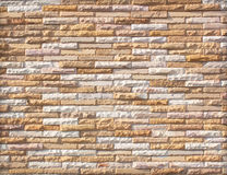 Stone wall made with blocks Royalty Free Stock Photography