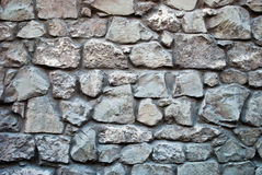 Stone wall. Wall made from stones. Closeup stock image