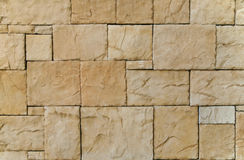 Stone Wall Mosaic Stock Photography