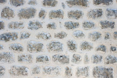 Stone wall. Natural stone outer wall texture photo Royalty Free Stock Images