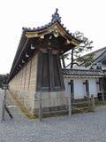 Stone Wall at Nijo Castle, Kyoto, Japan Stock Photo