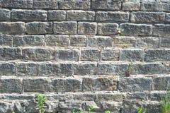 Stone Wall Obstruction stock photography