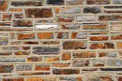 Stone wall. Old  stone wall can used background Royalty Free Stock Photography