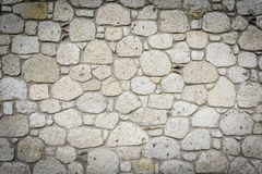 Stone Wall. Old Dirty Stone Wall Background Stock Photo
