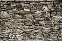 Stone Wall. Old Dirty Stone Wall Background Royalty Free Stock Photos