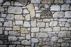 Stone Wall. Old Dirty Stone Wall Background Royalty Free Stock Photo