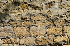 Stone wall. Royalty Free Stock Photography