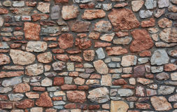 The stone wall Stock Image