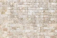 Stone wall. Old wall made of the Jerusalem stone wall. Israel royalty free stock photo