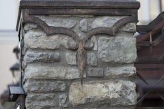 Stone wall with old masonry Royalty Free Stock Photo