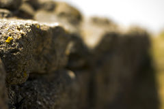Stone Wall. A old stone wall that resist the time Royalty Free Stock Photos