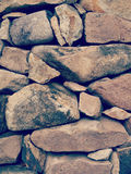 Stone wall old retro vintage Royalty Free Stock Photography