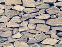 Stone wall old retro vintage Stock Photos