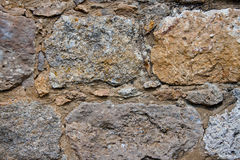 Stone wall. Old stone wall structre for texture, wallpaper, background et Royalty Free Stock Images