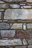 Stone wall. Old stone wall structre for texture, wallpaper, background et Royalty Free Stock Photography