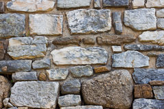 Stone wall. Old stone wall structre for texture, wallpaper, background et Royalty Free Stock Image