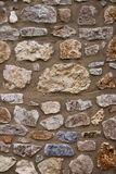 Stone wall. Old stone wall structre for texture, wallpaper, background et Royalty Free Stock Photo