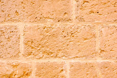 Stone wall of Otranto cathedral Royalty Free Stock Photography
