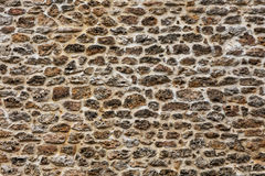 Stone wall in Paris Royalty Free Stock Photography