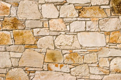 Stone wall pattern Stock Image