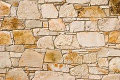 Stone wall pattern stock image