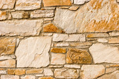 Stone wall pattern Royalty Free Stock Images