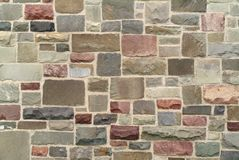 Stone wall pattern Royalty Free Stock Photos