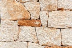 Stone wall pattern. stock image