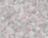 Stone wall pattern pale grey b. Stone wall construction pattern grey blue patio vector illustration