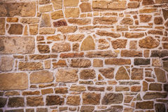 Stone Wall Photo Backdrop Royalty Free Stock Images
