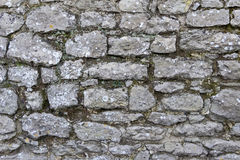 Stone Wall. Photograph of stone wall captured in Wateringbury, Kent, UK Stock Photos