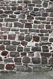 Stone wall pointed with fresh mortar Stock Photos