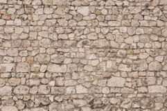 Stone wall protection Royalty Free Stock Photography