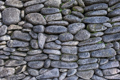 Stone Wall. Stone Rock Wall from bali , indonesia Royalty Free Stock Photos