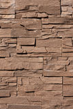 Stone wall from rough rectangles Stock Photo