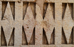 Stone Wall Sculptures Details Of gfw w stock image