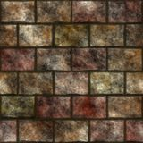 Stone wall seamless generated texture Stock Images