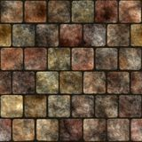 Stone wall seamless generated texture Royalty Free Stock Photos