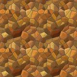 Stone wall seamless texture tile Royalty Free Stock Photos