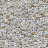 Stone Wall. Seamless Tileable Texture. stock image